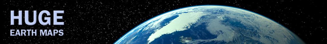Huge Earth Maps